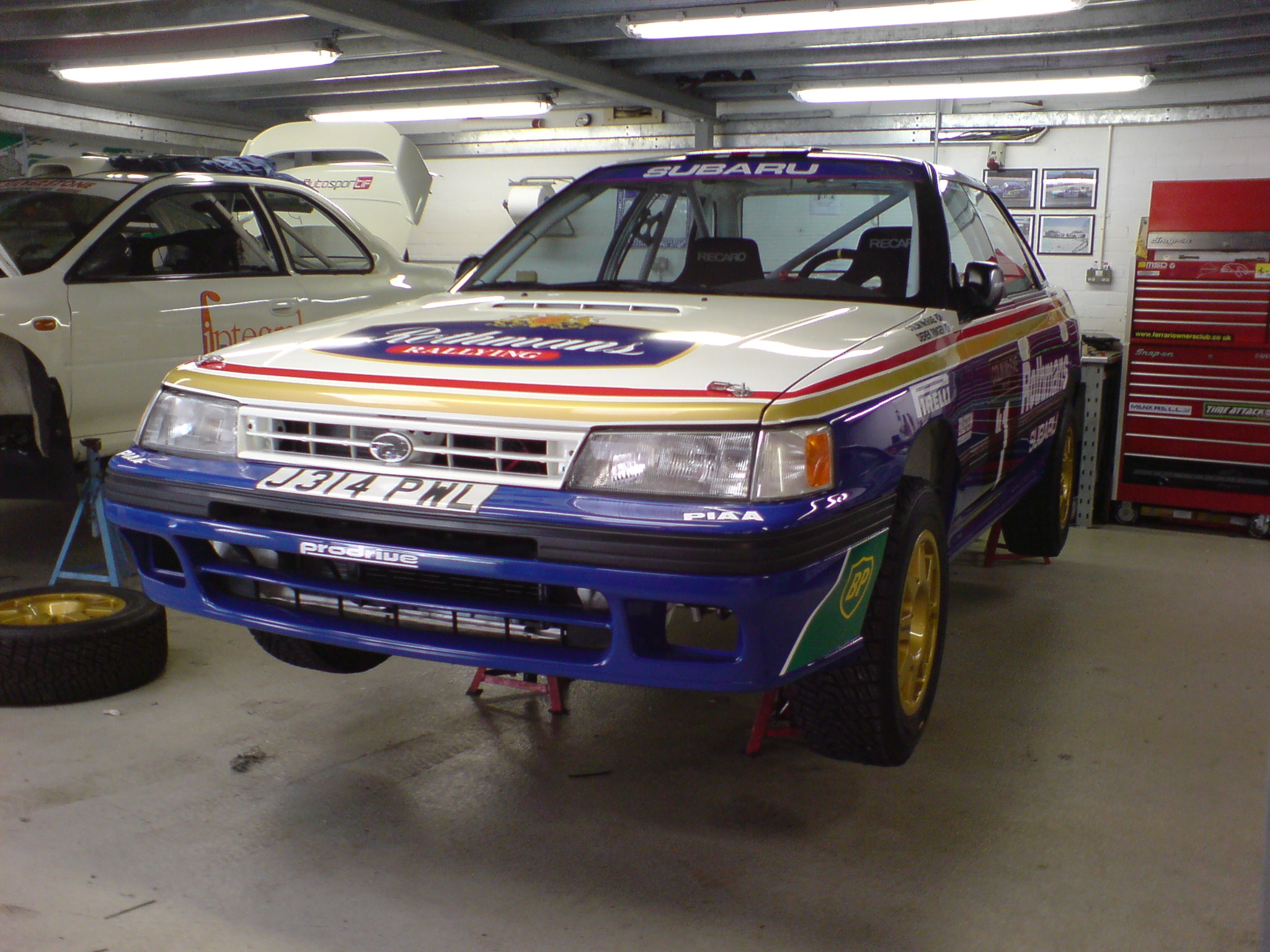 Autosportif Subaru Rally Car Preparation Workshop